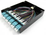 MPO Fiber Optic Cassette, 10G OM3 12LC